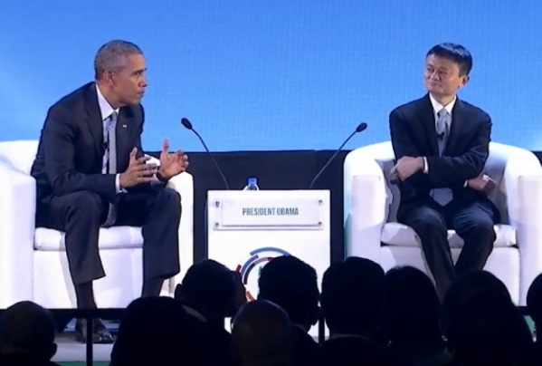 Alibaba's Top 10 Moments of 2015 Obama-and-Ma-APEC-2015-final