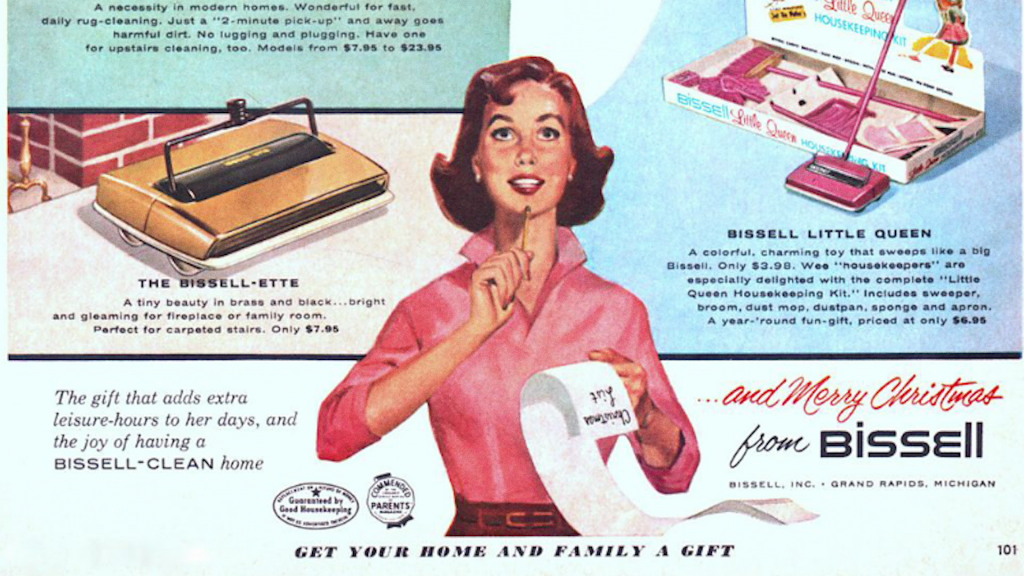 Bissell ad