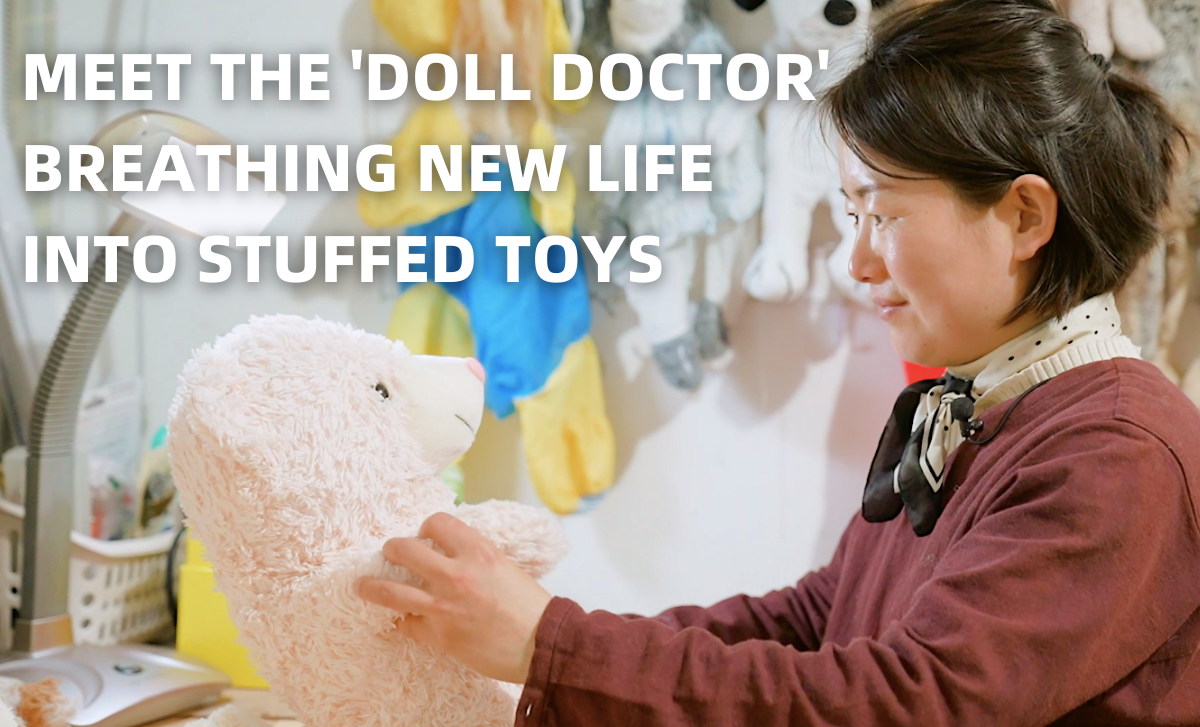 A 'Toy Doctor' and Her Stuffed Animal Clinic